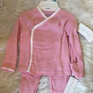 Ralph Lauren Matching Sets - Ralph Lauren Pink and White Outfit
